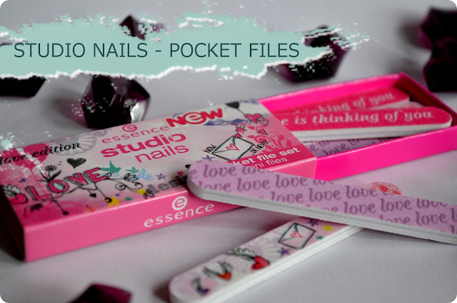 essence Neuheiten Herbst/ Winter 2013 STUDIO NAILS POCKET FILE SET