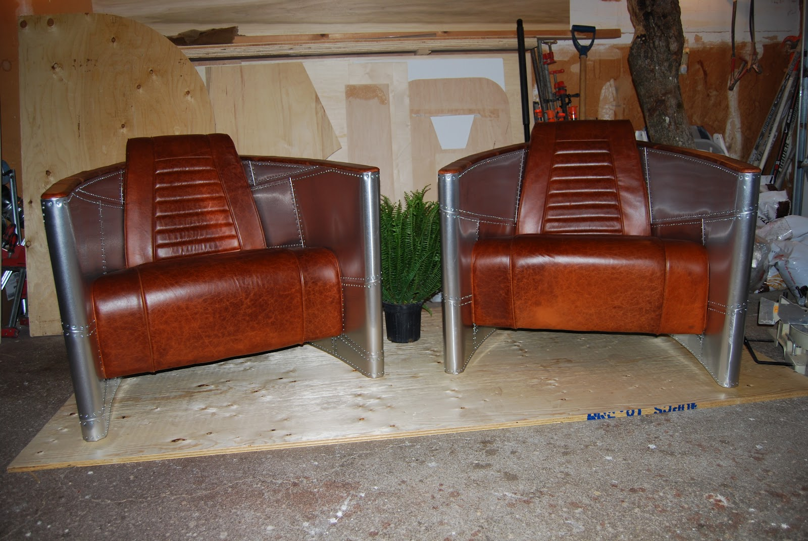 The Aviator Chairs Are Complete And They Look Amazing!! Custom Cowide  Leather Seat Was Superbly Upholstered By A Local Company U2013 JR Custom  Upholstery In ...