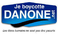 BOYCOTT: DANONE VOLVIC DES FAUX COLOGISTE