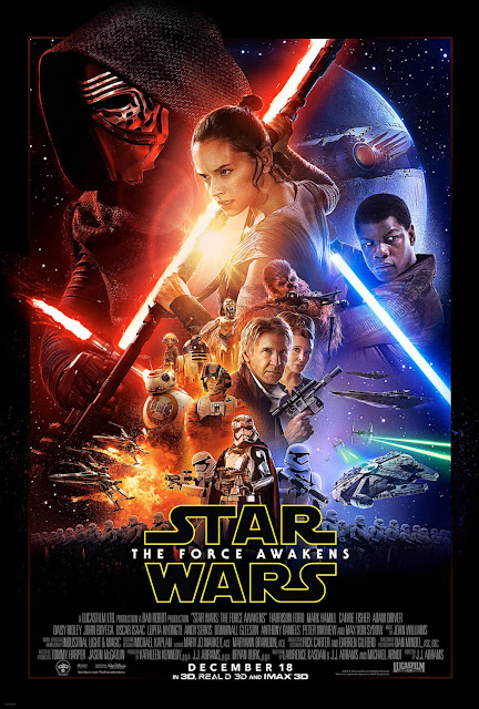 Star Wars cartel The Force Awakens