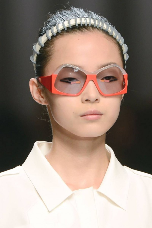 Women's Must Have Accessory: Fendi plastic spiral headbands