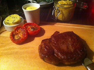 Stitch and Bear - La Brasserie - Wagyu sirloin steak