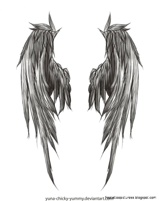 Angel Wing Tattoo  Free Tattoo Pictures