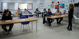 Cartagena news aspirantes inician las pruebas para for Oficina sef murcia