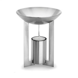 Stainless steel aromatherapy burner