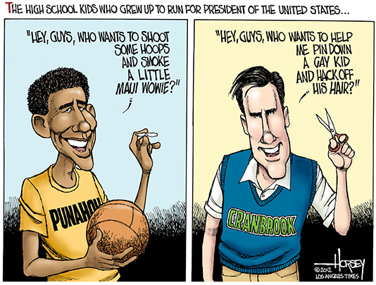 A Very Awesome Blog Political Cartoon Comparison