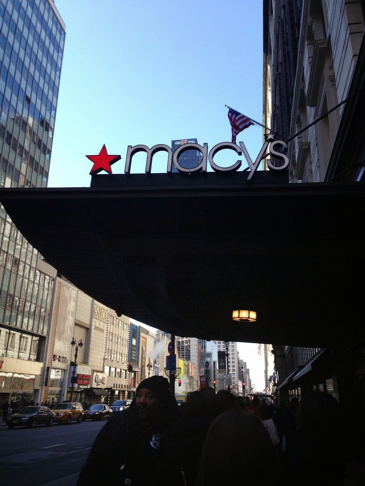 Macy's at Herald Square Entrance Fashion Store
