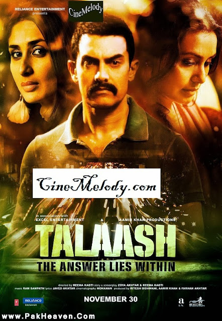 Talaash  Hindi Mp3 Songs Free  Download  2013