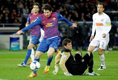Barcelona 4 - 0 Santos (3)