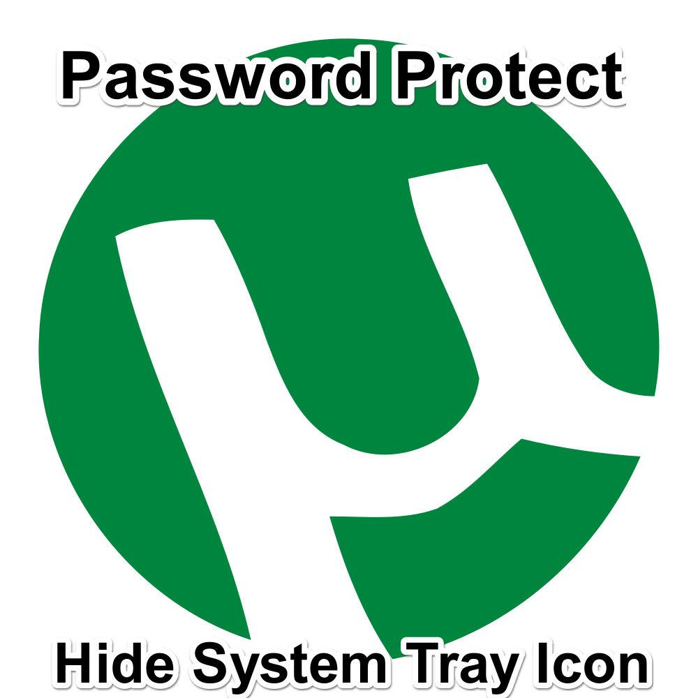 Utorrent Password Hide