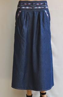 Skirt Jeans Long RM328-1
