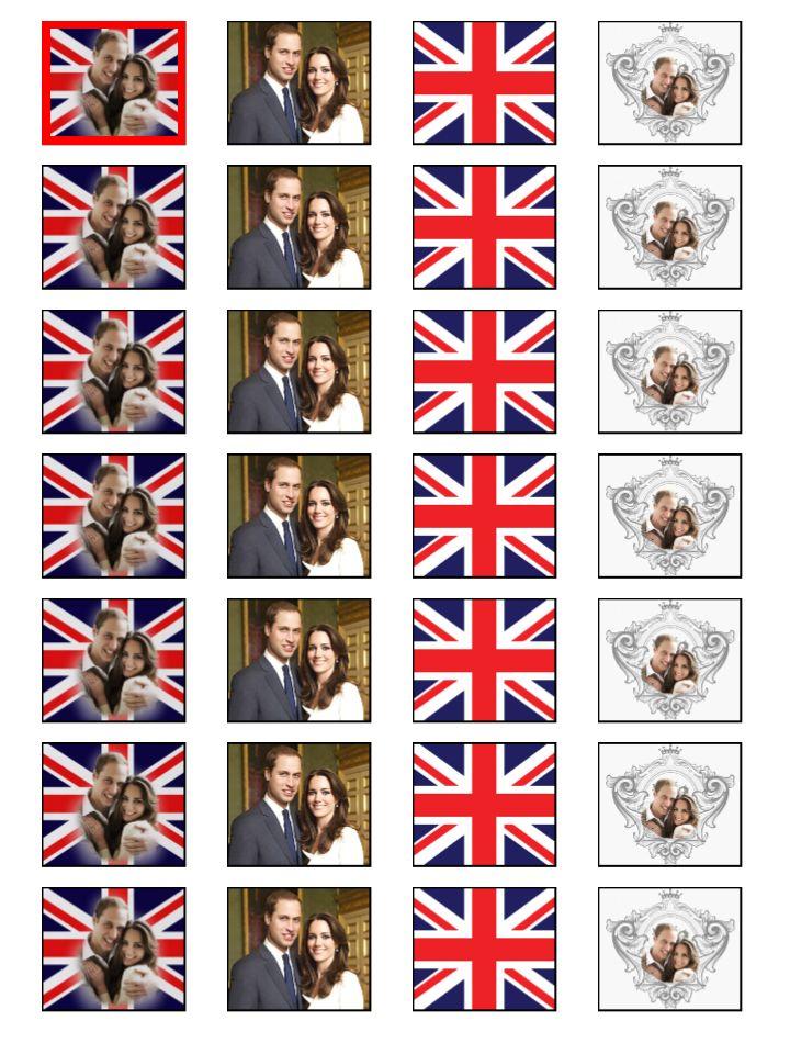 royal wedding cupcakes. Royal Wedding Cupcake Supplies