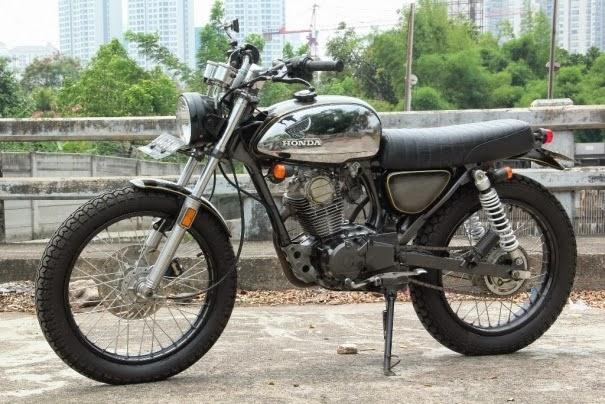 modifikasi motor honda gl max terbaru
