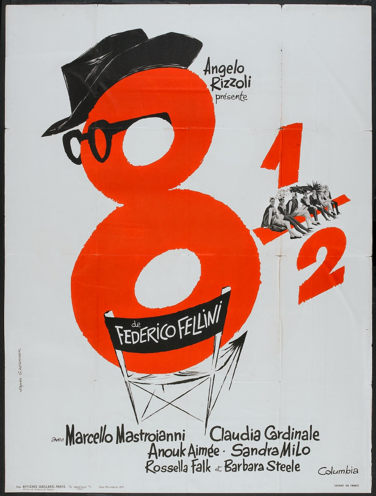 OTTO E MEZZO aka 8 1/2 (Dir. Federico Fellini, 1963) | Discreet ...