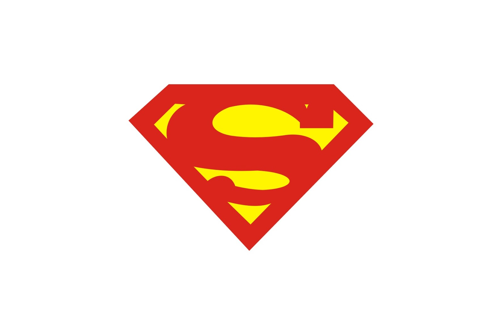 Superman logo template collection site for Superman template for cake