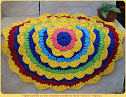 Tapete Listrado em Flor Amarela