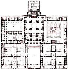 220px Escorial traza def - El monasterio del  Escorial, las puertas del infierno