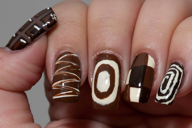 Chocolate Nail Art
