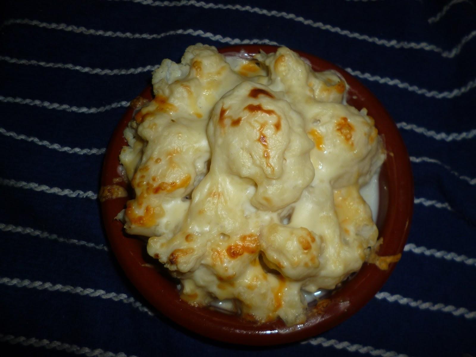 Cocina y reposteria con arkaitz y leire coliflor con besamel for Cocina y reposteria