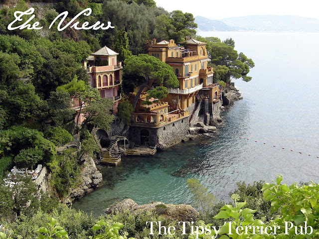 Amazing view from Hotel Piccolo, Portofino - tipsyterrier.blogspot.com