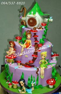 Torta zvoncica, torte vile, najlepse torte, slatkisvet.com