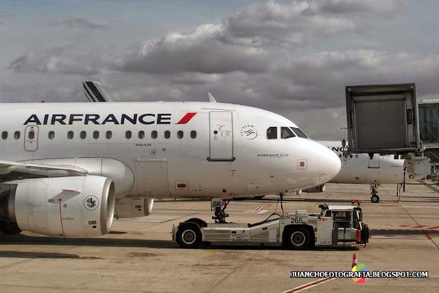 Avion de AirFrance