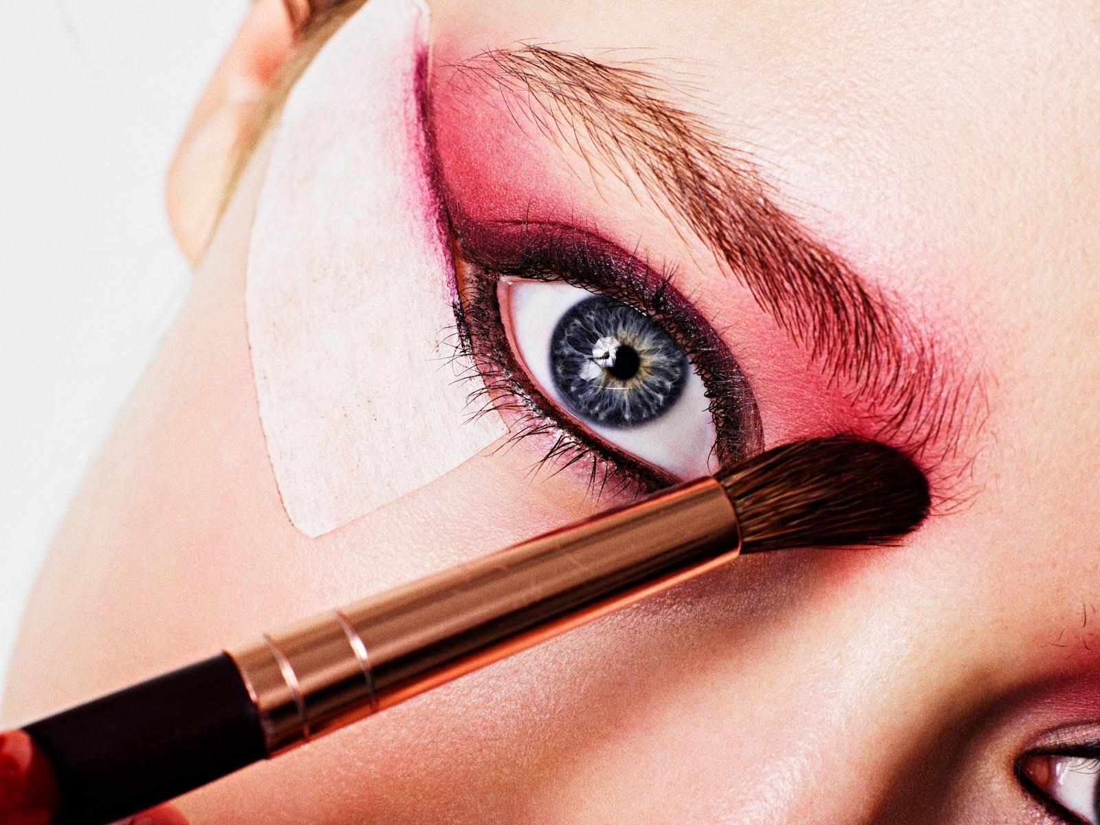 Как сделать макияж глаз цветными карандашами - m 178