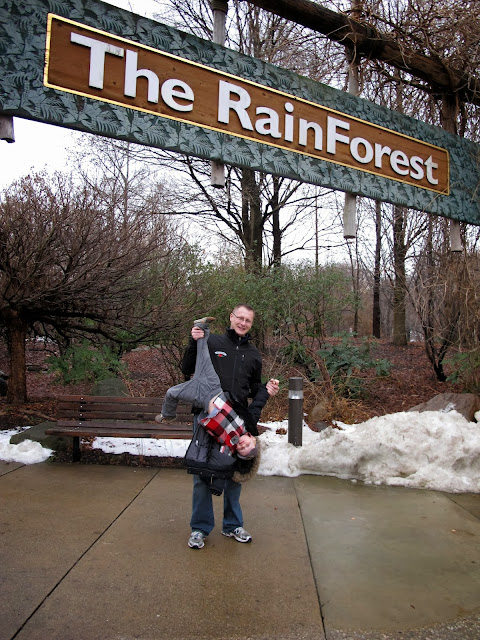 The RainForest at the Cleveland Zoo