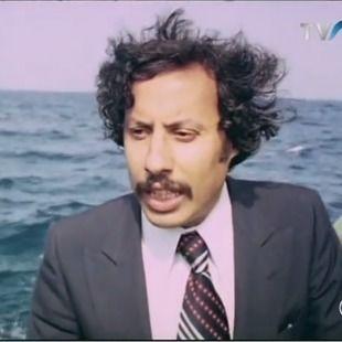 الفنان الرائد عبد القادر مطاع ضيف افتتاح مقهى ثقافي