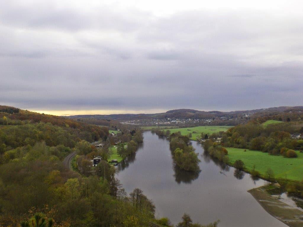 Ruhrtal Herbst Hunderunde Ruhr