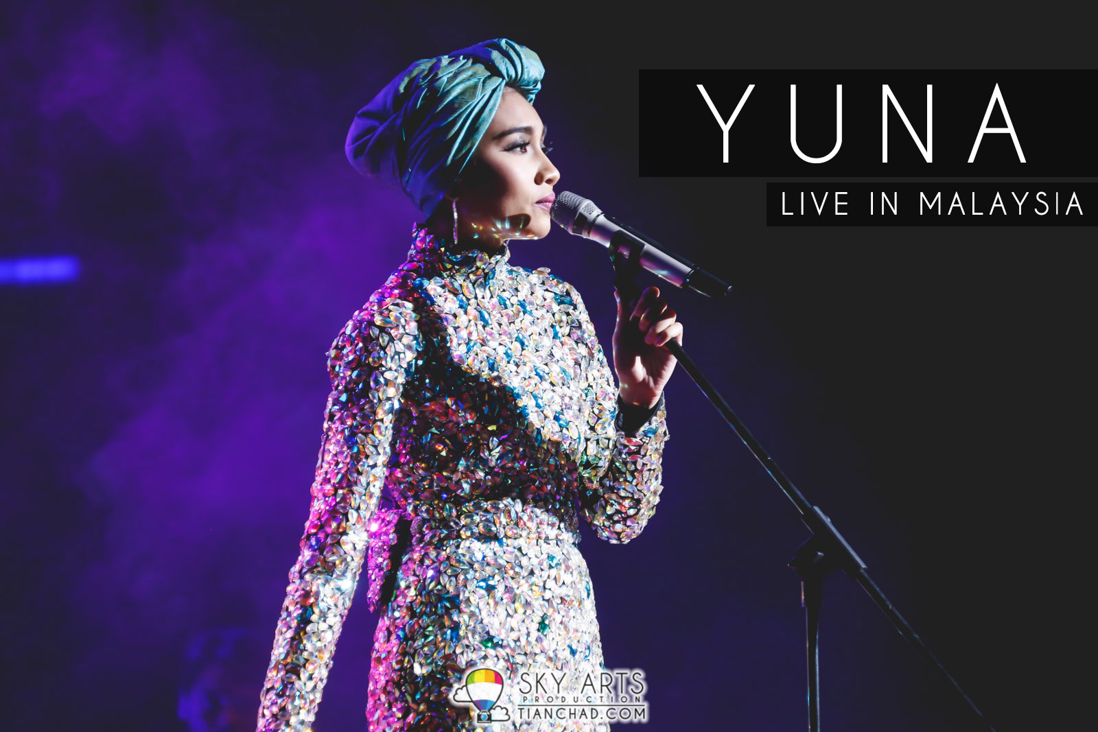 [Photo] Sparkling Night at Yuna Live In Malaysia 2015   KLCC Plenary Hall  #yunaliveinmy