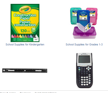 School Supplies Deals on Amazon.ca