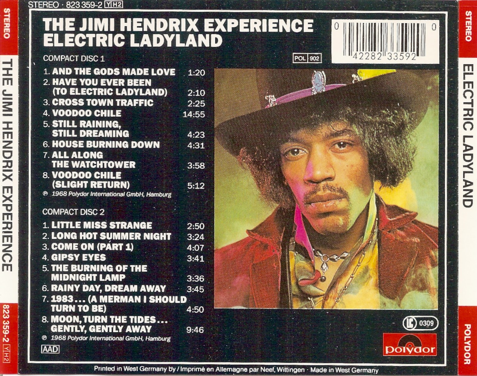 The First Pressing Cd Collection The Jimi Hendrix
