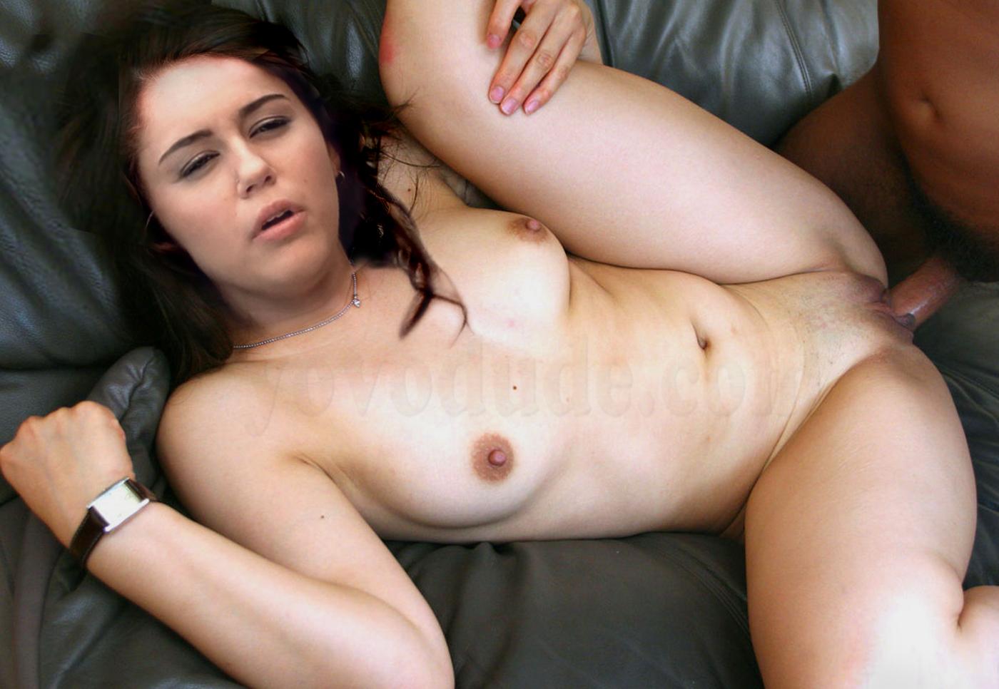 Miley Cyrus Naked Fakes