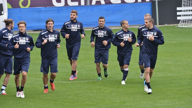 Italy Squad Training