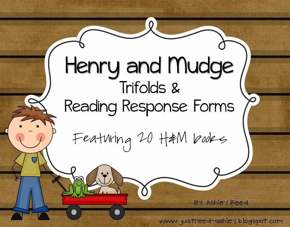 http://www.teacherspayteachers.com/Product/Henry-and-Mudge-Reading-Trifolds-and-Response-Sheets-for-20-books-234851