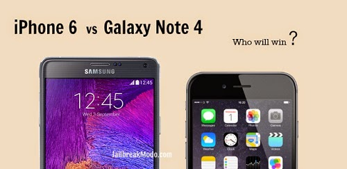 iPhone 6 atau Samsung Galaxy Note 4