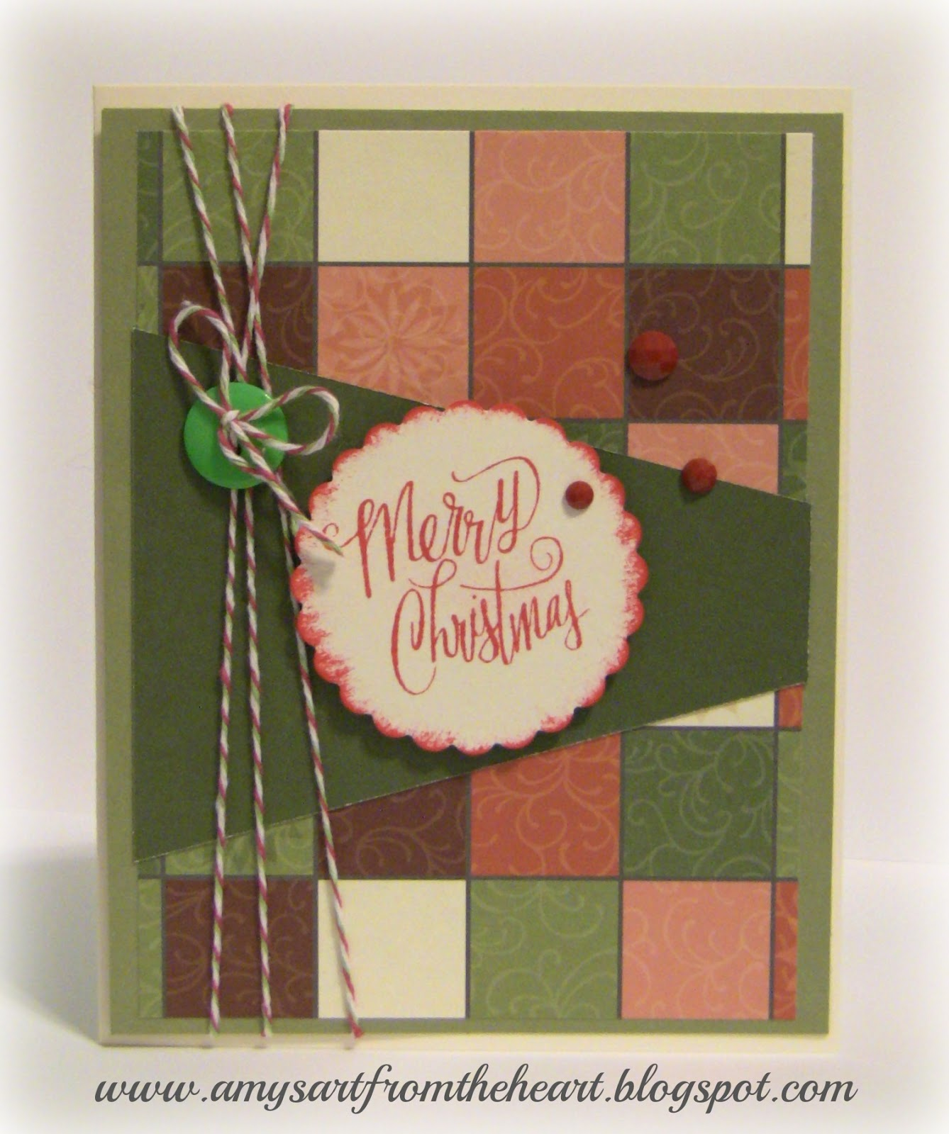 Amys Art from the Heart: Christmas Card Exchange 2015