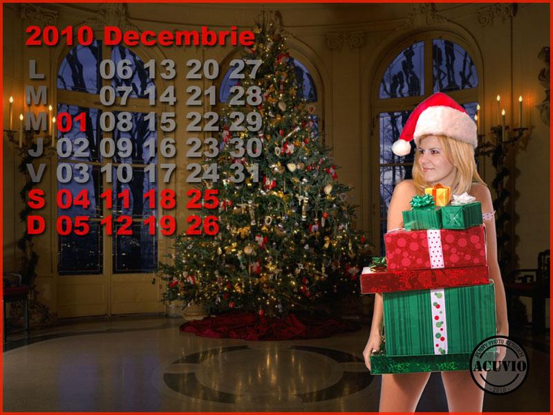 Funny postcard Decembrie Elena Udrea