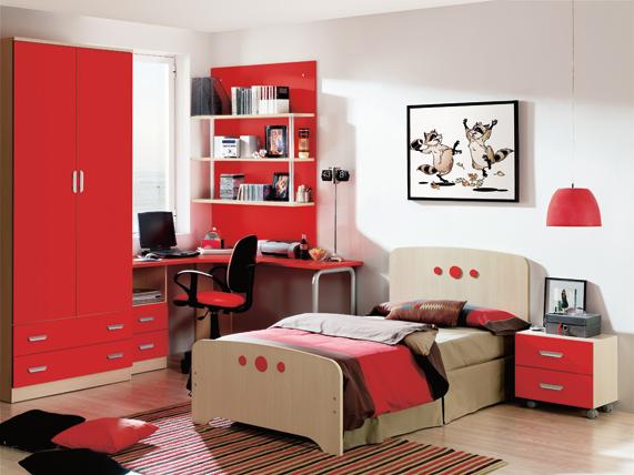 Dise os de dormitorios para adolescentes con mucho color Diseno de habitaciones para adolescentes