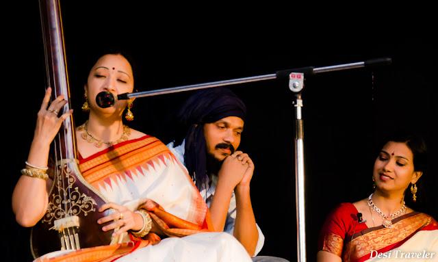 3 artists at dasha avatara show