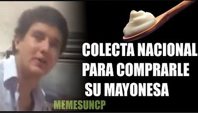 meme del chico que pide mayonesa