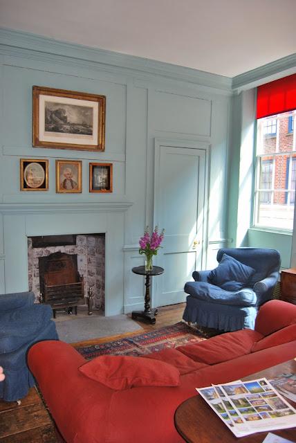Princelet Street, Landmark Trust, Days out Spitalfields, London photo by Modern Bric a Brac