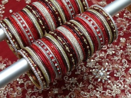 Red-Eid-Bangles 2013-14