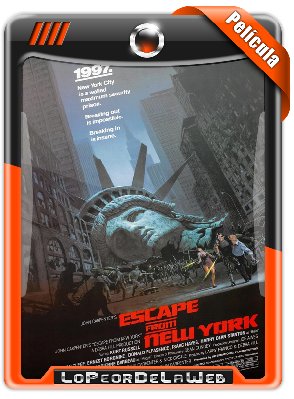 John Carpenter's: Escape From New York (1981) 720p H264 Mega