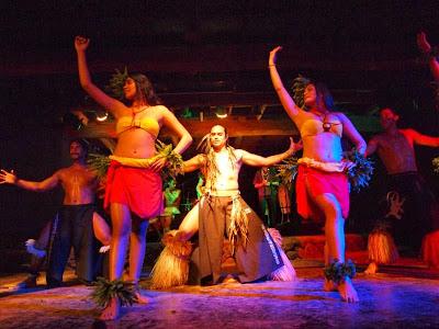Bailarinas Rapa Nui