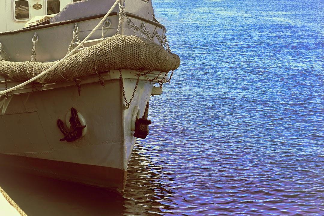 Statek w Oslo, Morze Północne