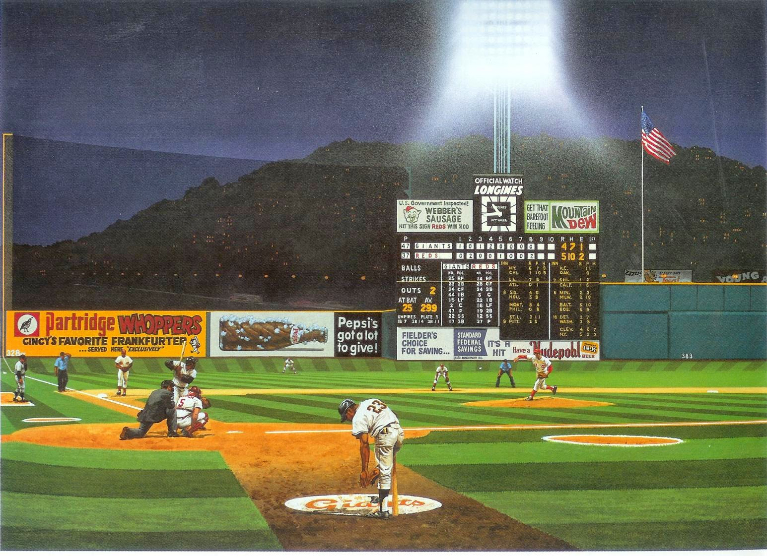 Crosley Field Rendition