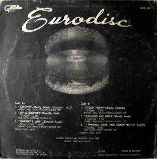 GAPULEROS BLOG: Gapul Discografia - Eurodisc