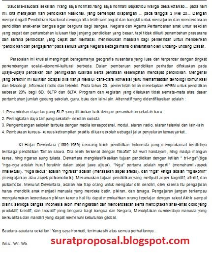 Contoh Teks Pidato Bahasa Jawa Tema Mengeti Pendidikan Nasional